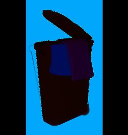 Palm Luxe 1.15 Bushel slim Laundry Hamper / grey
