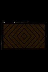 "Natural Diamond Coir Doormat 18"" x 30"""