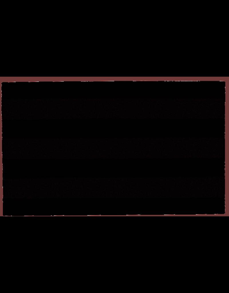 """Grey Ribbed Coir Doormat 18"""" x 30"""""""