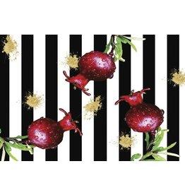 Pomegranate Splash Placemats Set of 30