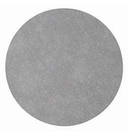 "15"" Gem Silver Round Mat"