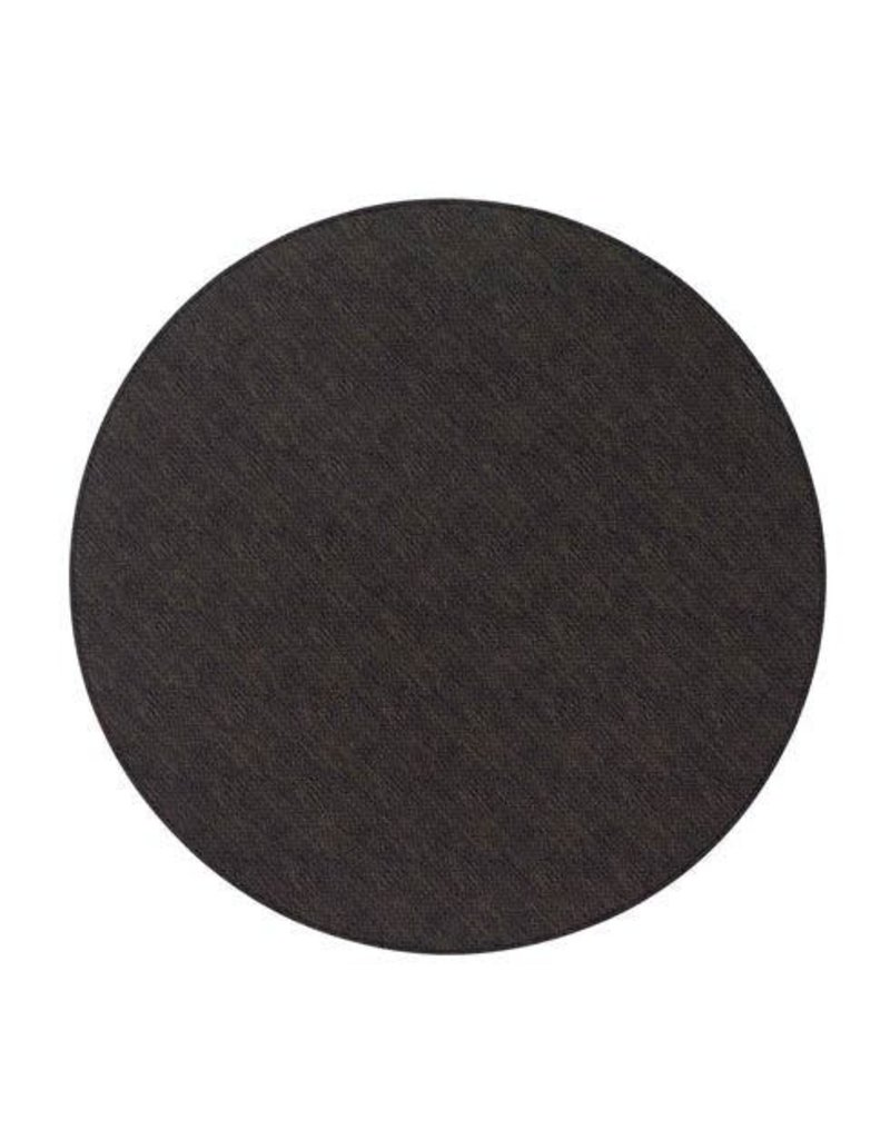 "15"" Presto Black Round Mats"