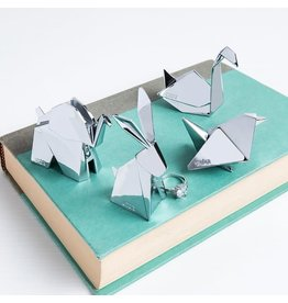 Origami Animals Merch Chrome - Swan