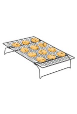 "Cooling Rack - Non Stick 15""x10"""