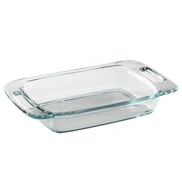 "PYREX-RECT-2qt EASY-GRAB-7x11"" OPEN"