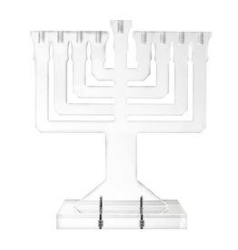 Presented Touch Acrylic Menorah Acrylic Menorah Design Clear
