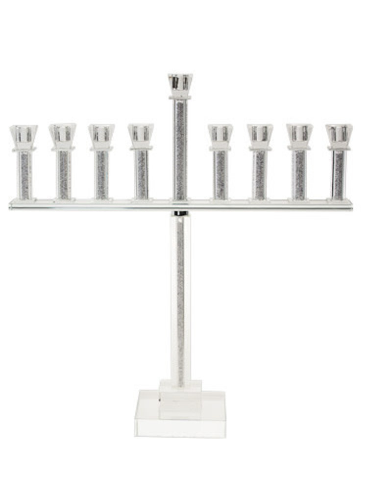 Legacy Menorah crystal with stones 20""