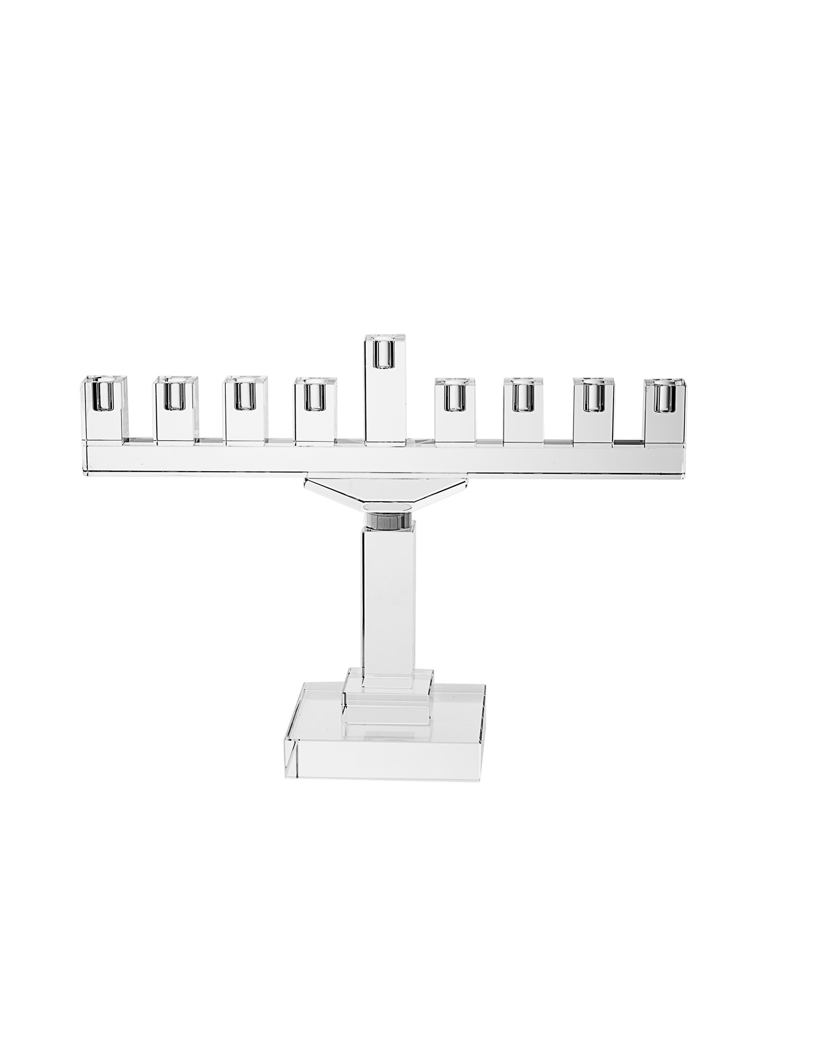 Legacy Menorah Crystal Without Silver 19 Inch