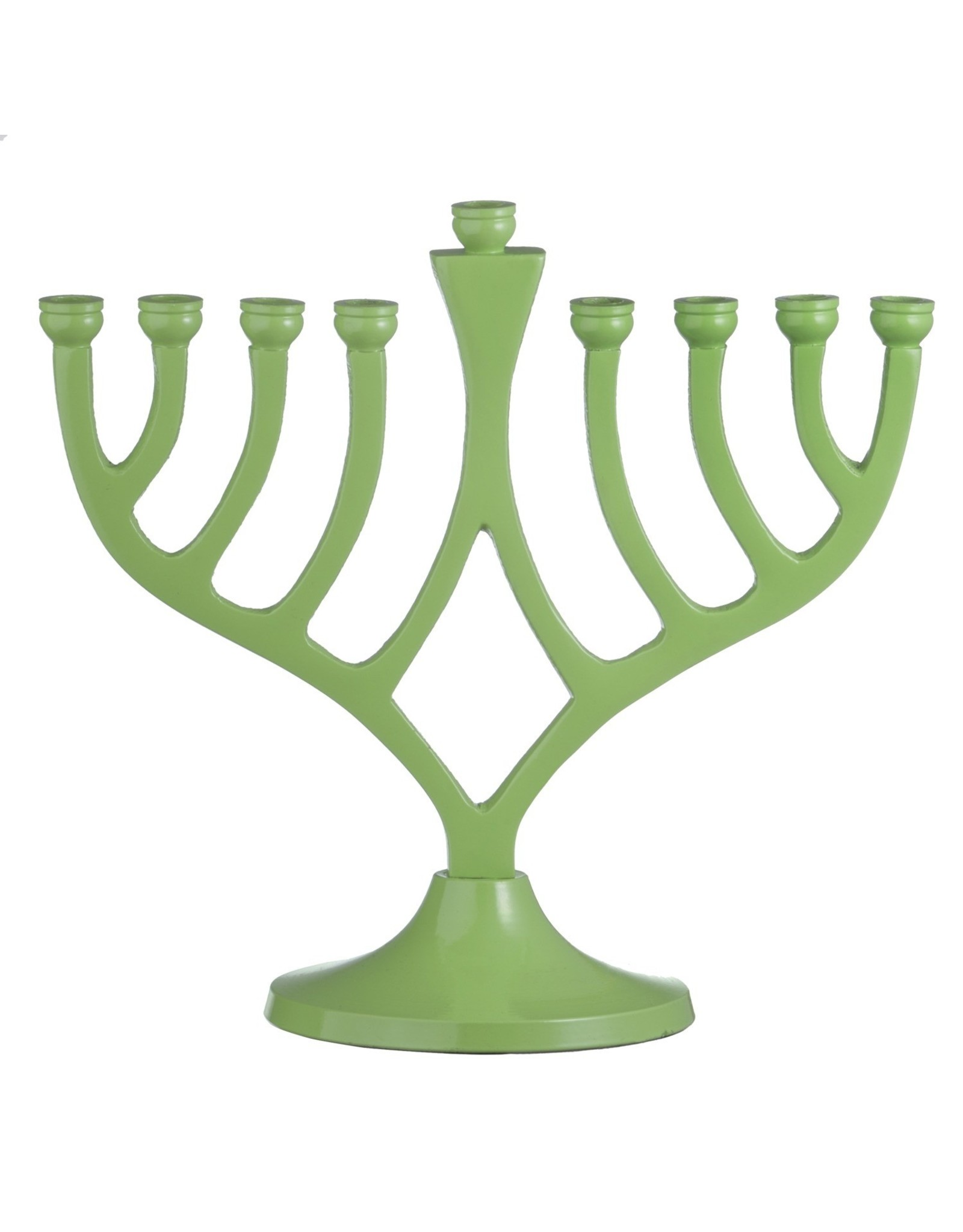 "7"" Green Menorah"