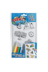 12 X Chanukah Color & Stick