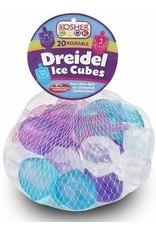 6 x Reusable Ice Cubes - Dreidel 20pk. (KCBW:0157-W) BC 706132052602