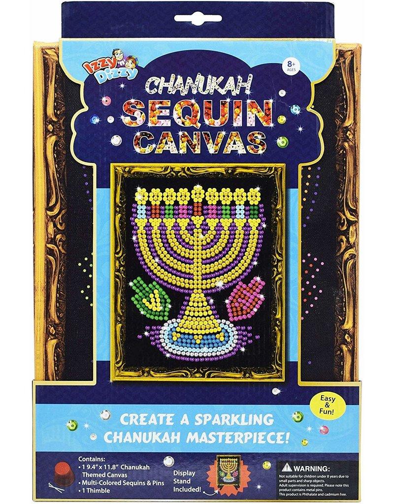 12 x Chanukah Sequins Canvas Kit