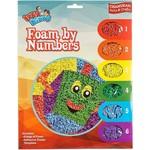 12 x Chanukah Foam by Numbers Kit