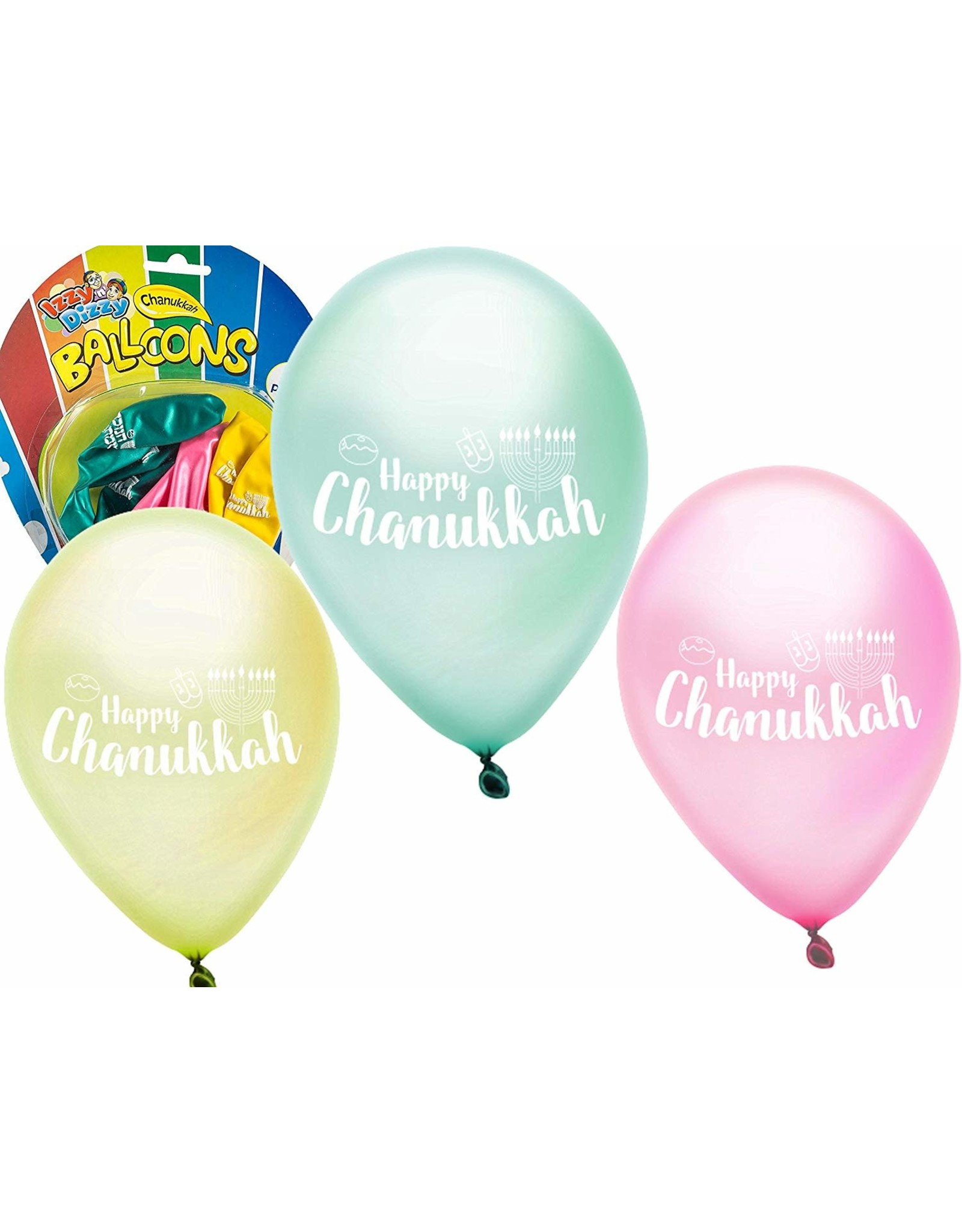 12 x Chanukah Balloons 6pk.