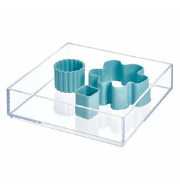 Interdesign Clarity Drawer Organizer 8'' x 8'' x 2''