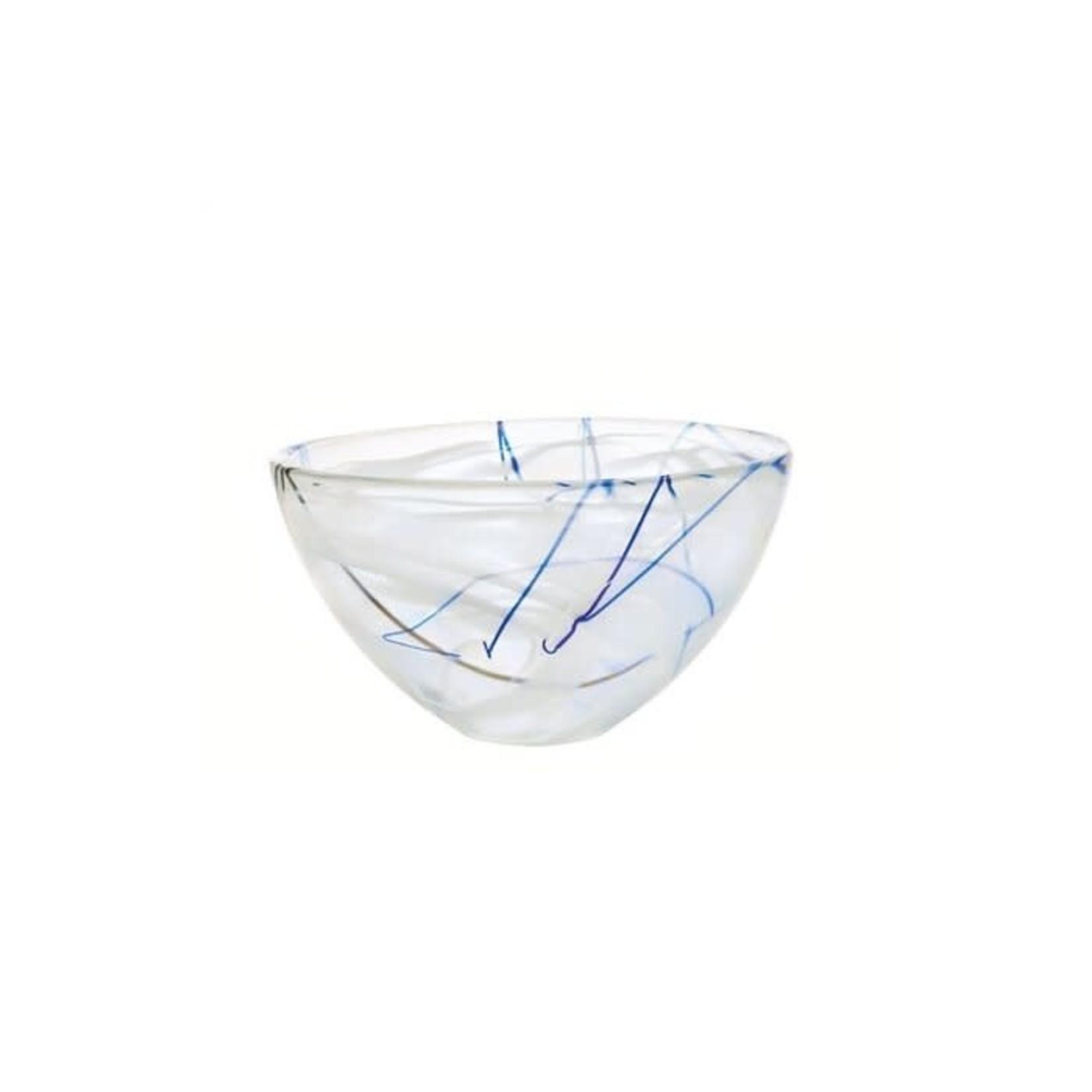 7050611 Contrast Med White Bowl