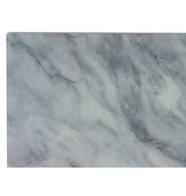 "58335 Glass Cutting Board Marble Design Medium 14x10"" ("