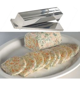 "11-3/4"" Stainless Steel Log Mold"