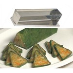 Stainless Steel Log Mold- Triangle with Cover