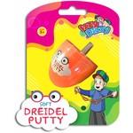 Assorted Color Putty Filled Dreidel
