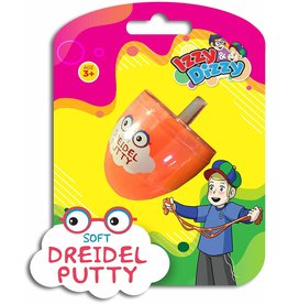 Assorted Color Putty Filled Dreidel