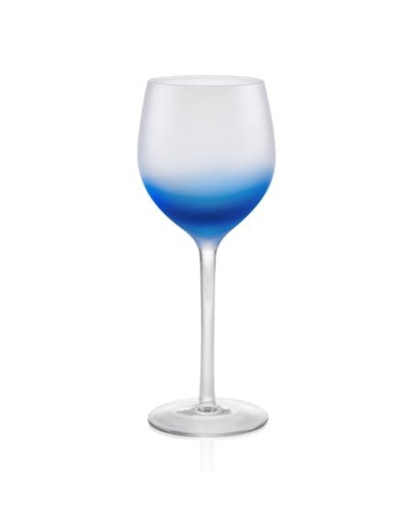Frost Shadow Goblet 17oz Blue