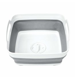 Collapsible Wash Basin With Strainer