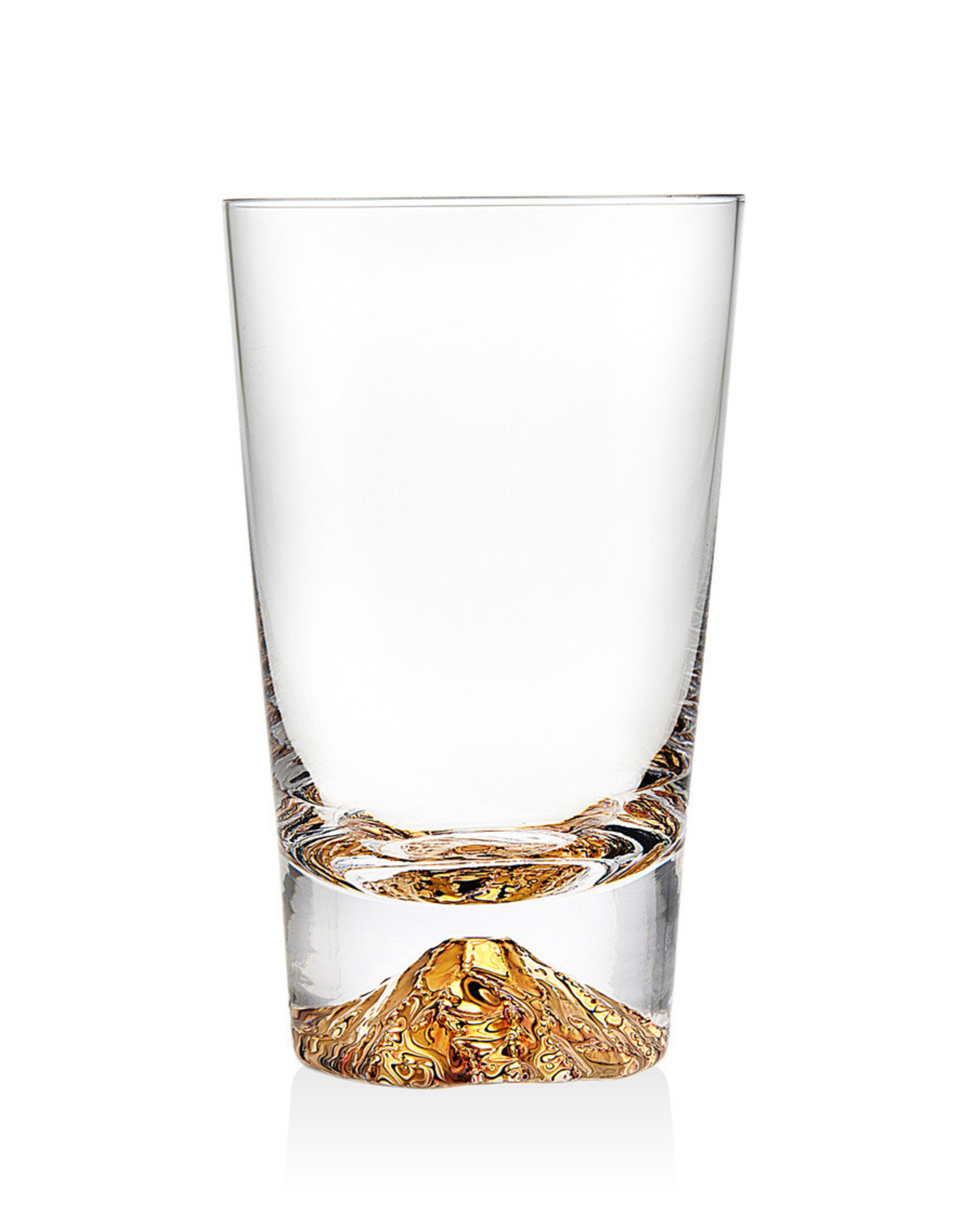 48364  Sierra Highball Gold Glass (4)