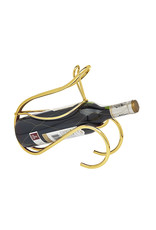 84386 Infinity Wine Caddy - Gold