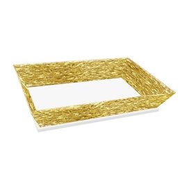 Challah Tray/Cake Tray Gold