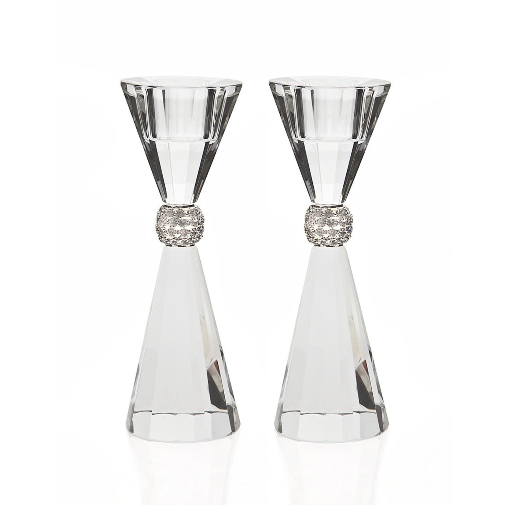 15669 Palazzo 5.5 Bling C/s Candle Sticks