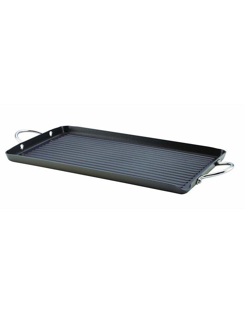 "18""x10"" Double Burner Grill Pan"