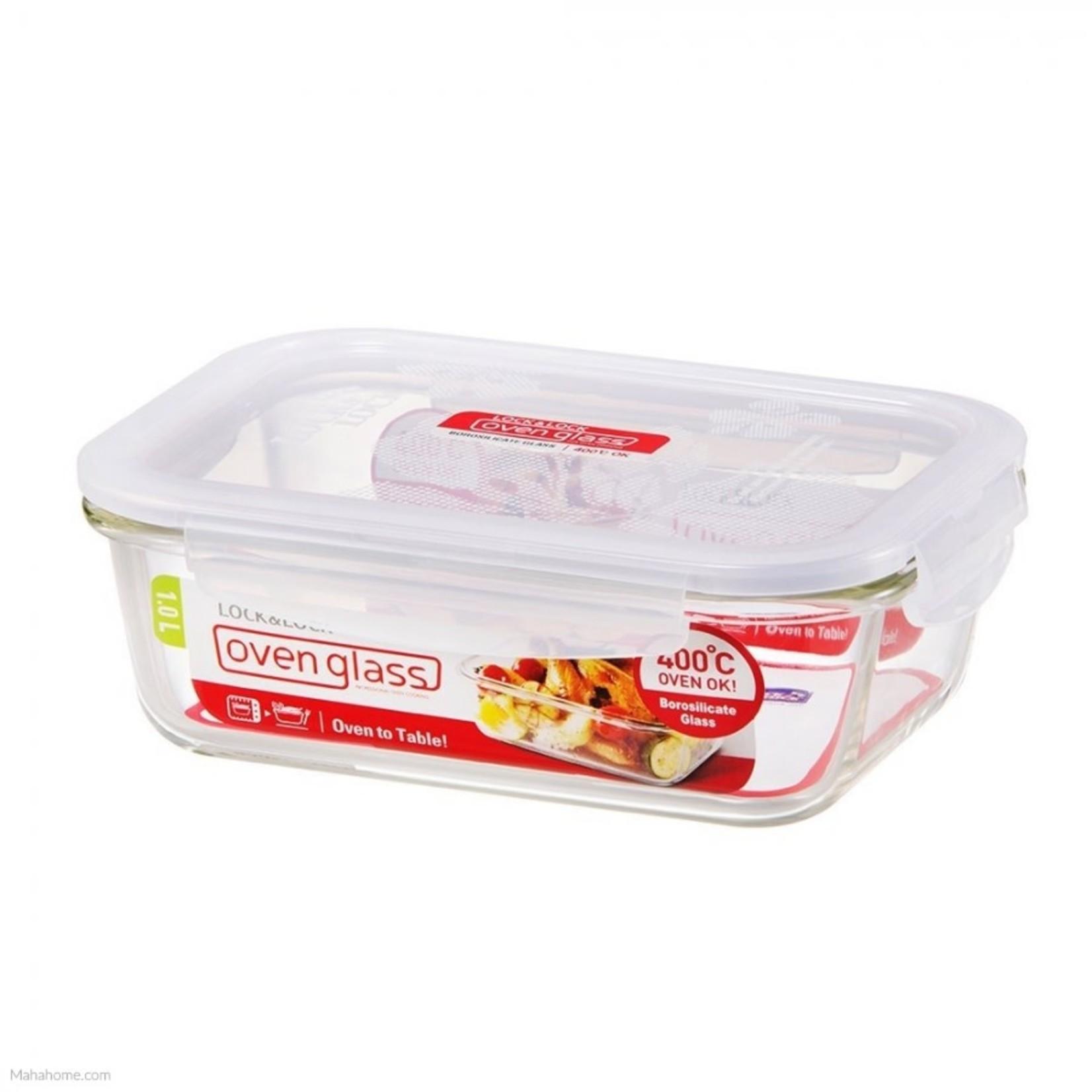 1.0L Glass Rectangular Food Storage Container