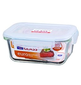 420ml Glass Rectangular Food Storage Container