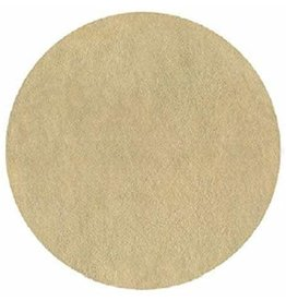Gold Leather Round Plaemat