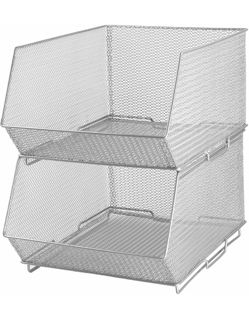 Stacking Basket Large 15X11X8