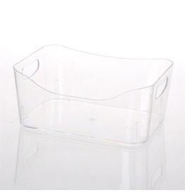 Transparent Storage Basket
