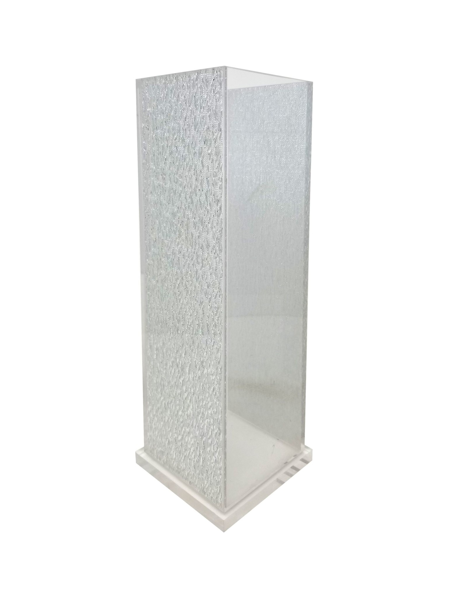 Acrylic Vase Square Sliver