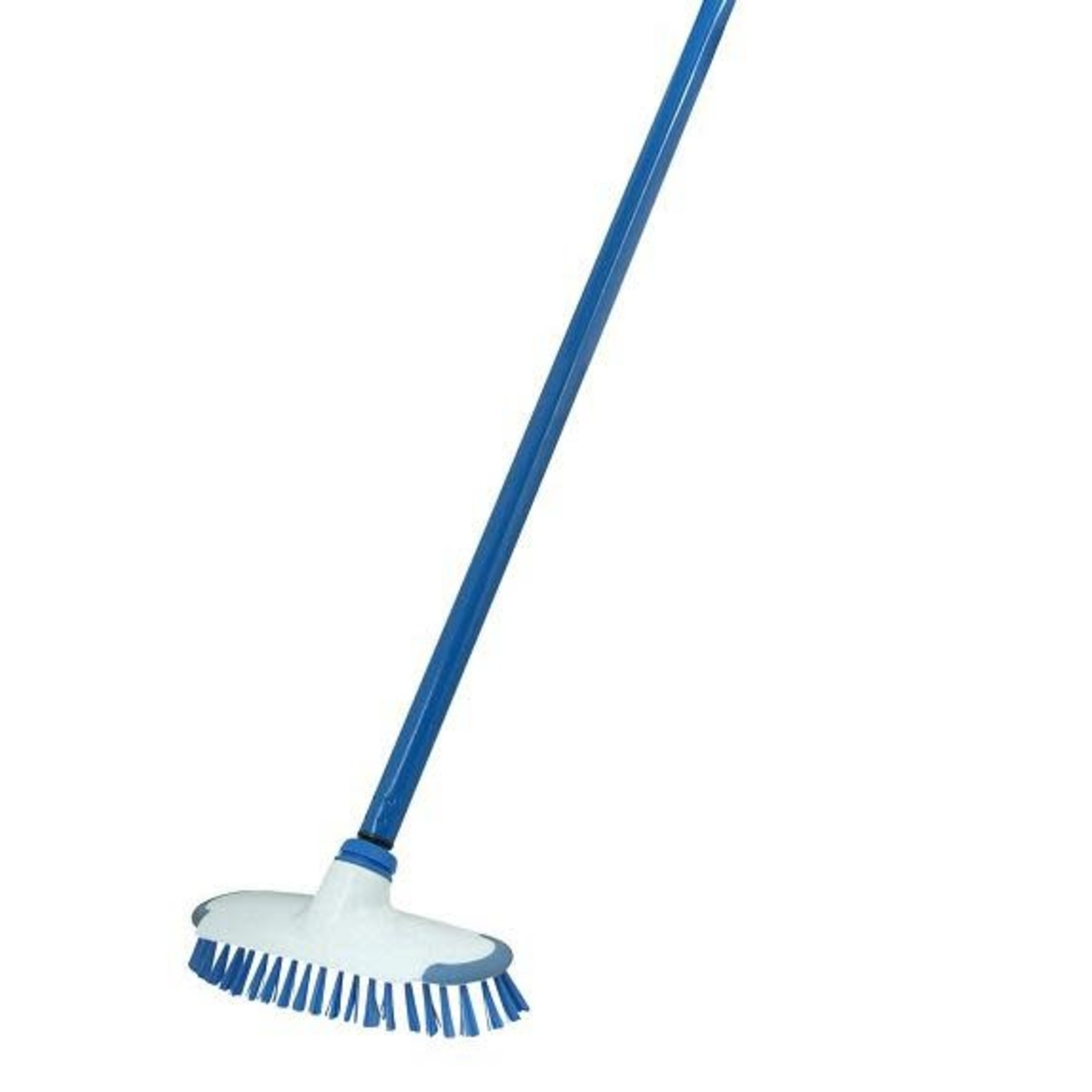 187 Blue/White Deck Scrubber