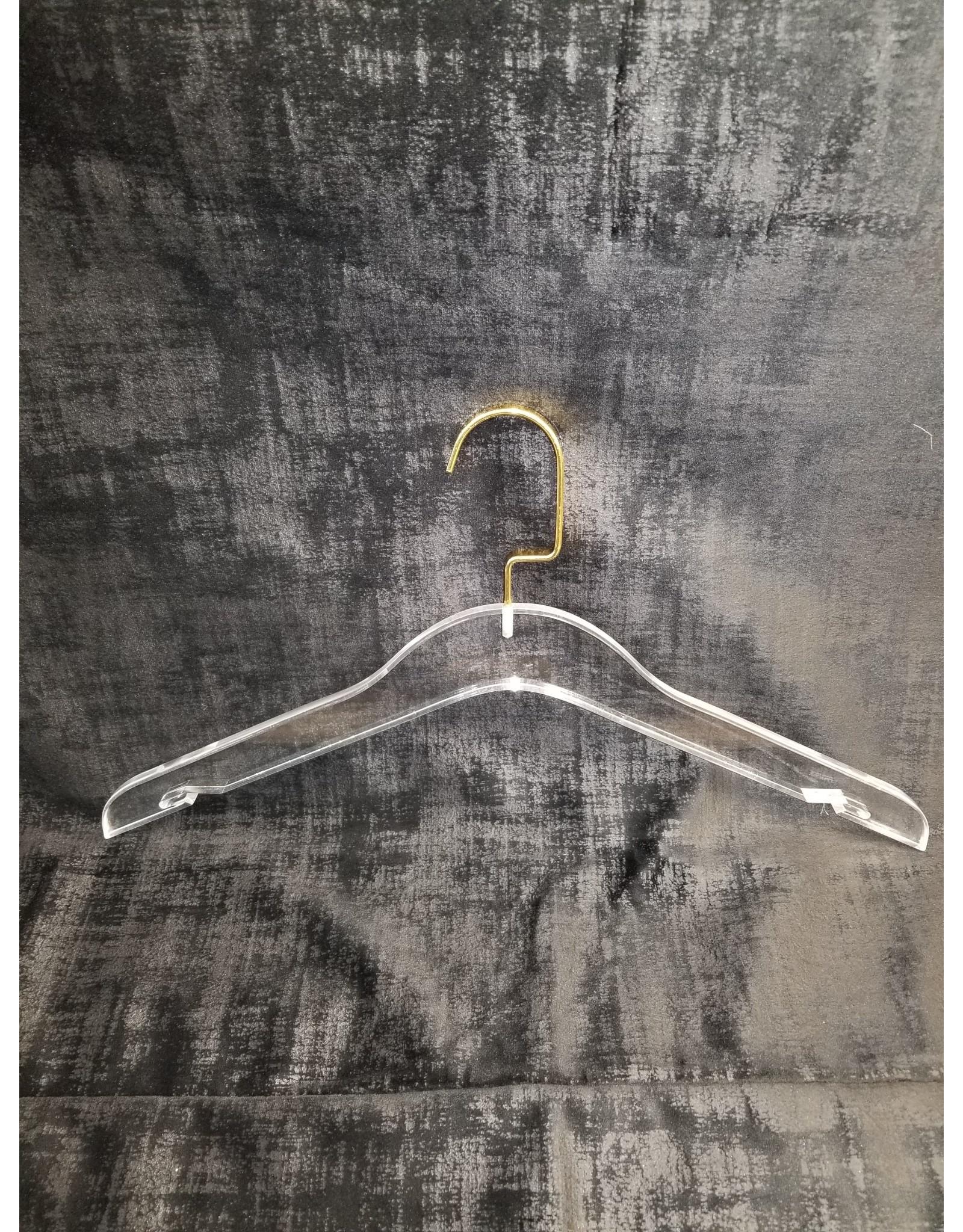 Acrylic Hangers Gold