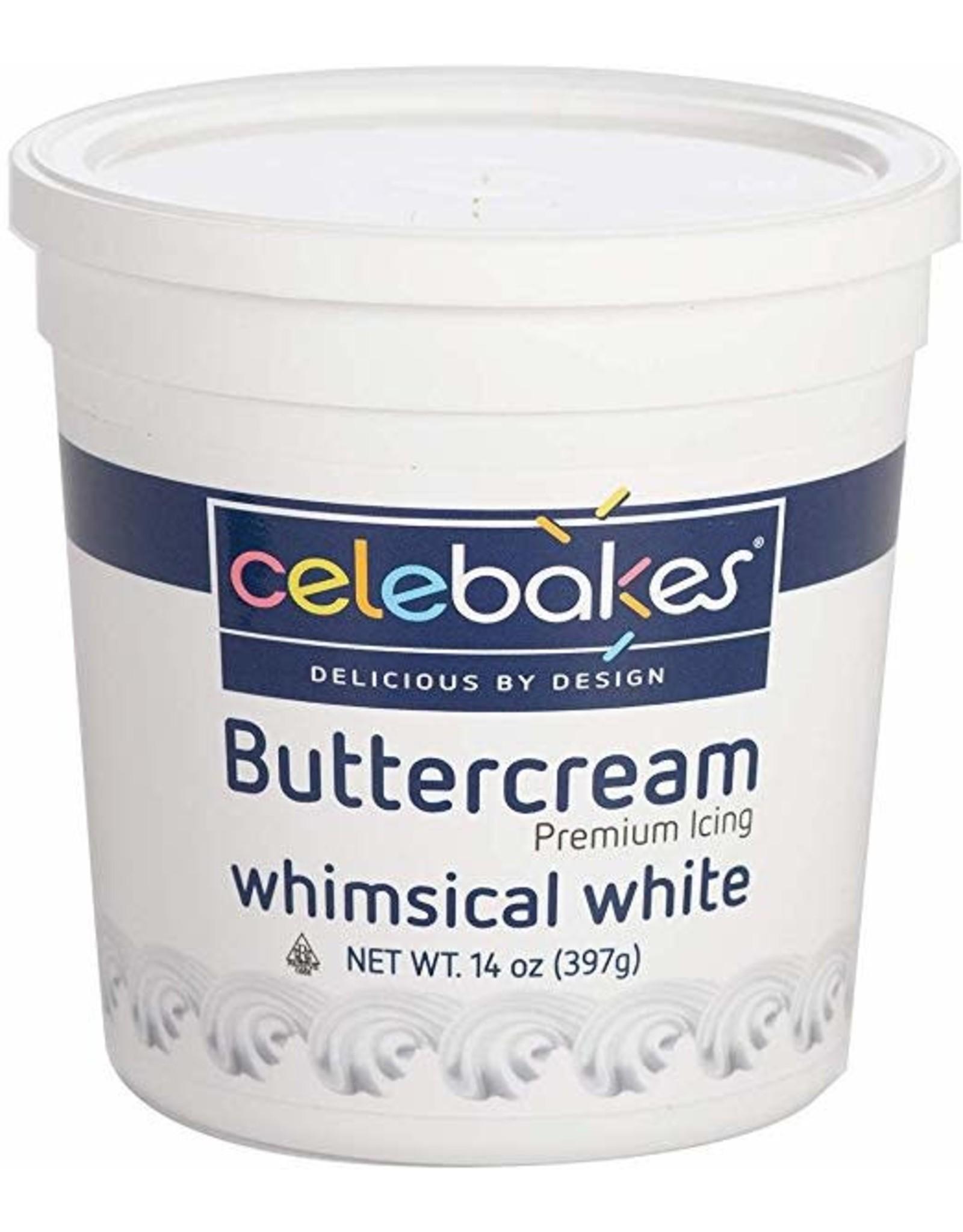 14 oz White Buttercream Icing