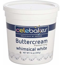 14 oz White Buttercream Icing