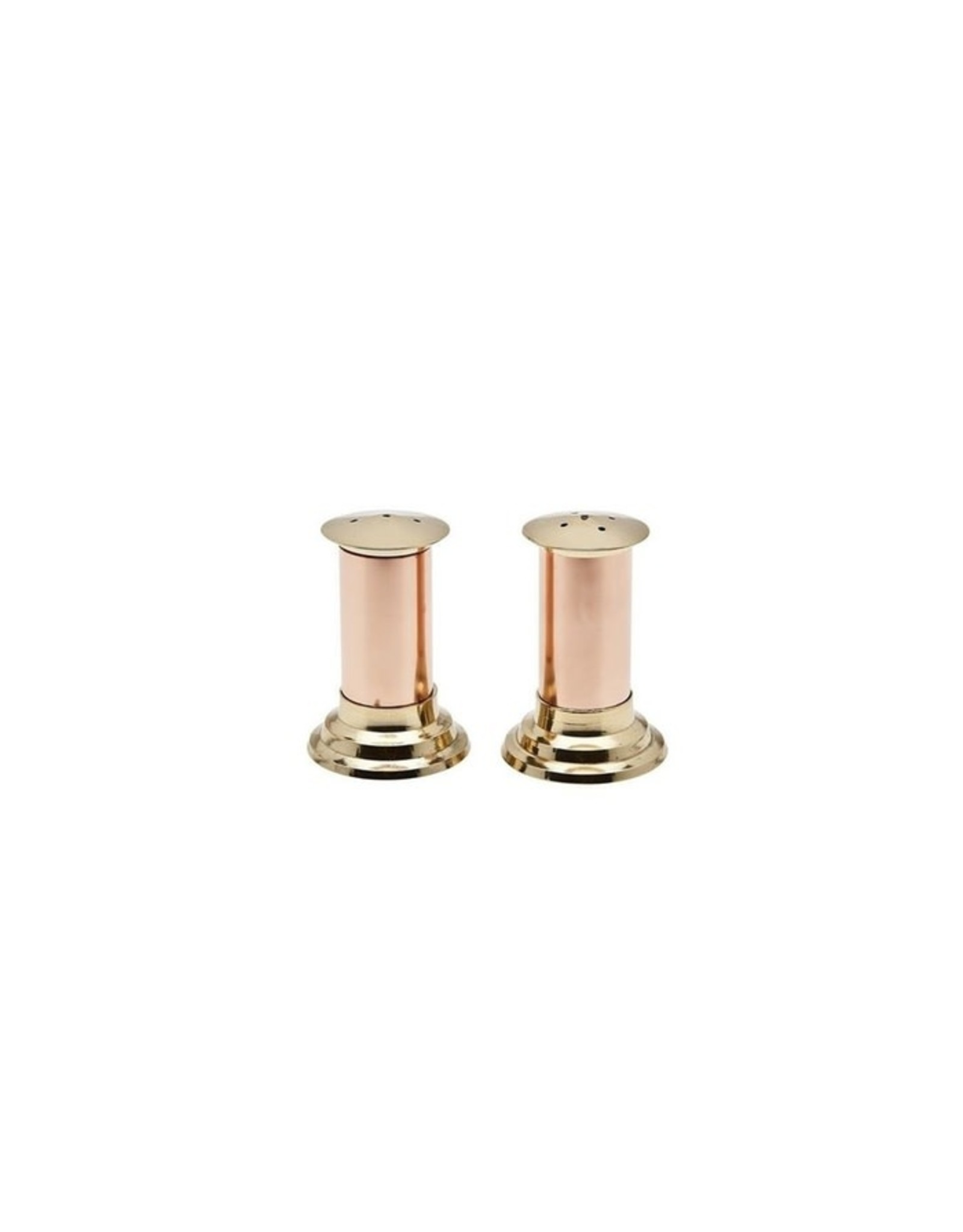 70011 Hearth Copper/ Brass Salt & Pepper Set