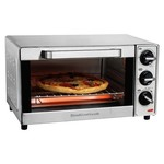 Imperial 2018 Hamilton Beach 4 Slice Toaster Oven Stainless Steel