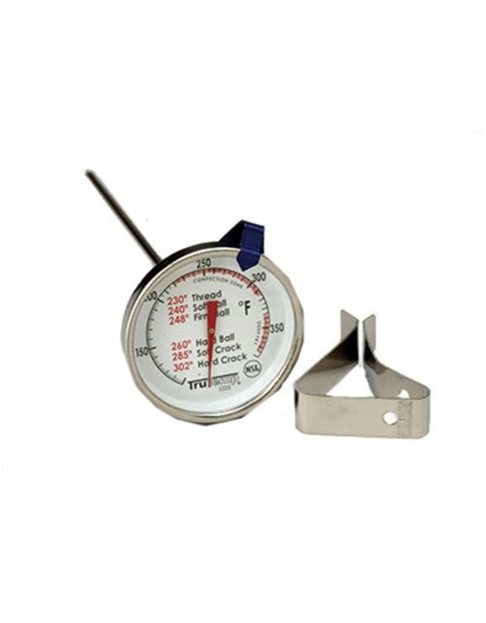 Candy/Deep Fry Thermometer With Clip