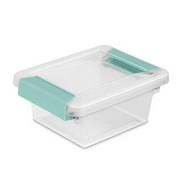 STORAGE CLIP BOX-6.5/8x5x2.3/4 CLR