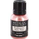 Metallic Food Paint - Pearlescent Baby Pink