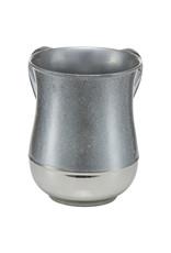 Glitter Silver 2 Tone Washing Cup