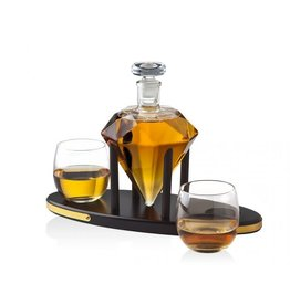 26560 Diamond Decanter Set
