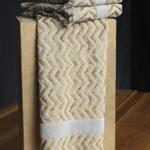 Misony Grey/Gold Hand Towel